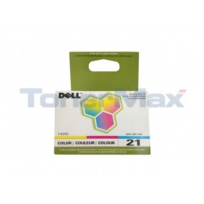 DELL V313W SINGLE USE SERIES 21 PRINT CART CLR